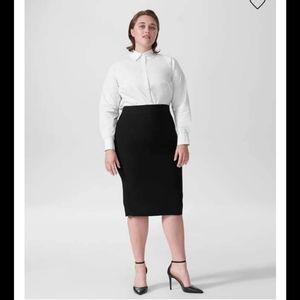 Lynn Luxe Pencil Skirt